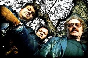 Hallgeir Pedersen Trio. Fra Venstre, Hallgeir Pedersens, Bjørn Alterhaug, Trond Sverre Hansen